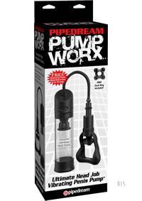 Pump Worx Ult Head Job Vibe Pump(disc)