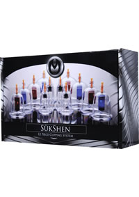 Ms Sukshen 12 Piece Cupping System