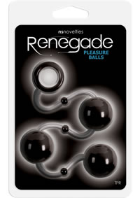 Renegade Pleasure Balls Black