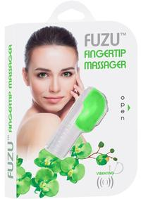Fuzu Finger Massager Neon Green