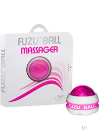 Fuzu Massager Ball Neon Pink 20/disp