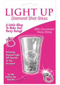 Light Up Diamond Shot Glass