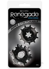 Renegade Spike Rings Black (disc)