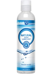 Cleanstream Anal Lube All Natural 8oz