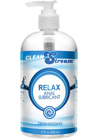 Cleanstream Relax Anal Lube 17 Oz