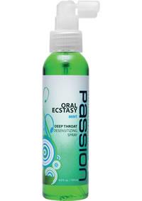 Passion Mint Deep Throat Spray 4oz