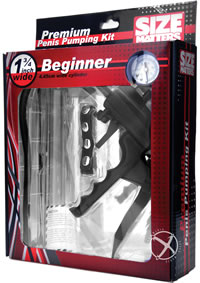 Size Matters Beginners Penis Pump Kit