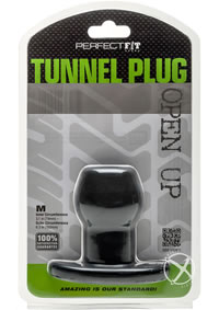 Tunnel Plug Medium Black