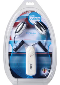 Twin Vibrating Butty Bullets