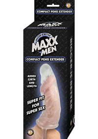 Maxx Men Compact Penis Sleeve Clear