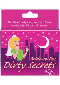Bride To Be Dirty Secrets