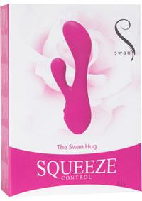Squeeze The Swan Hug Pink