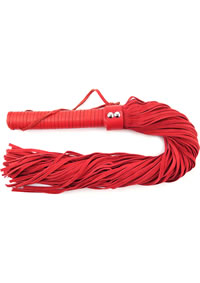 Rouge Suede Flogger Red