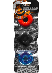 Ringer 3pk Do-nut 1 Multi Color