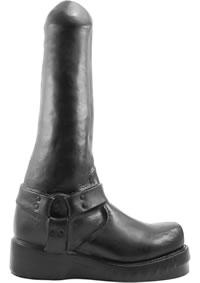 Boot Boy Dildo Black