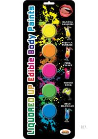 Liquored Up Body Paints 5 Flavors