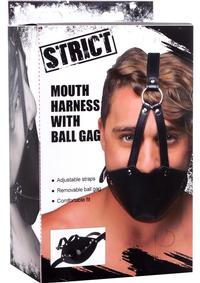 Strict Mouuth Harness W/ball Gag