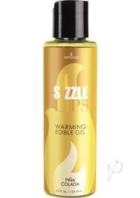 Sizzle Lips Pina Colada Warming Gel 4.2