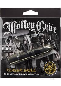 Motley Crue Class Skull Bullet Gld(disc)