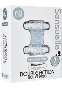 Sensuelle Dbl Action 7 Func Cring Clr