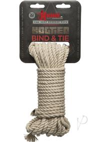 Kink Bind and Tie Hemp Bondage Rope 30ft