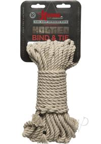 Kink Bind and Tie Hemp Bondage Rope 50ft