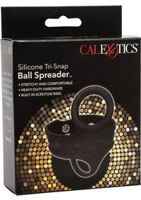 Silicone Tri Snap Scrotum Ball Spreader