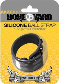 Boneyard Silicone Ball Strap Black