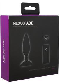 Ace Remote Control Vibe Plug Small Black
