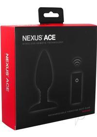 Ace Remote Control Vibe Plug Med Black