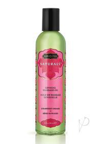 Naturals Massage Oil Strawberry Dreams