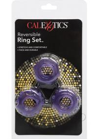 Reversable Ring Set Purple