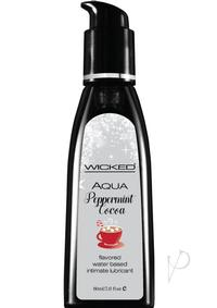Wicked Aqua Peppermint Cocoa Lube 2oz