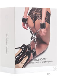 Ouch! Reversible Hogtie Black