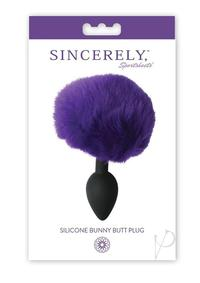 Sincerely Silicone Bunny Butt Plug