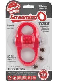 Screaming O Yoga Red (disc)