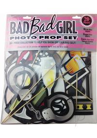 Bad Bad Girl Photo Prop Set