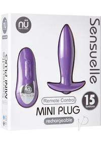 Sensuelle Remote Control Mini Plug Purp