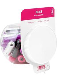 Minx Bliss 7 Mode Mini Bullet 32/bowl
