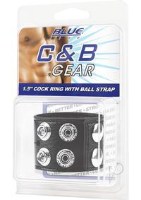 Cb Gear Cockring1.5  w/ball Strap