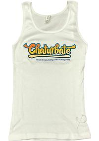 Chaturbate Swag Women Tank Top Wht Lg