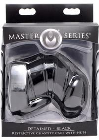 Ms Detained Restrictive Chastity Cage Bl