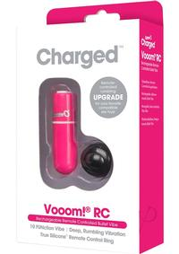 Charged Vooom Remote Control Bullet Pink
