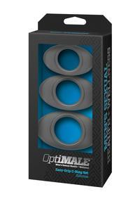 Optimale Easy Grip Cring Set Slate(disc)