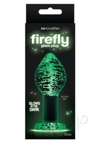 Firefly Glass Plug Large Clear