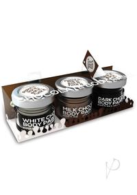 Chocolate Lovers Edible Body Paint Set