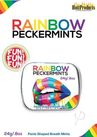 Rainbow Peckermints In Tin Carded