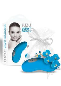 Fuzu Velvet Palm Massager Neon Blue