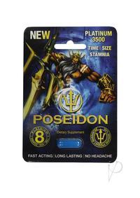 Poseidon 3500 Blue 1ct Pill