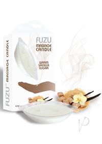 Fuzu Massage Candle Warm Vanilla 4oz